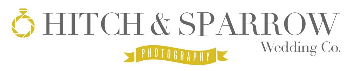 Logo for Hitch & Sparrow Wedding photography company